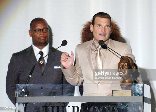 Andre Harrell and Phillip Bloch during Thurgood Marshall Scholarship Fund Presents Front Row October 21 2006 at Hammerstein Ballroom in New York City...