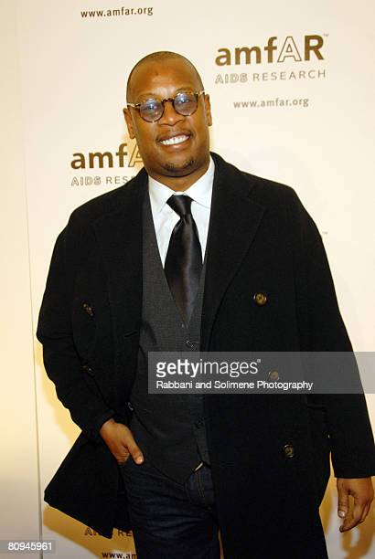 Andre Harrell attends amfAR's 2008 New York Gala at Cipriani, 42nd Street on January 31, 2008 in New York City.