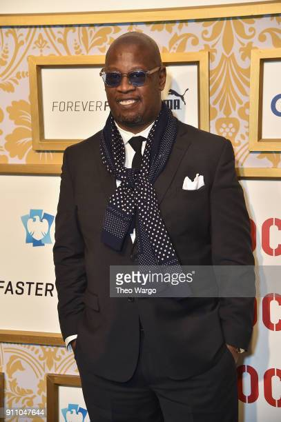Andre Harrell attends Roc Nation THE BRUNCH at One World Observatory on January 27 2018 in New York City
