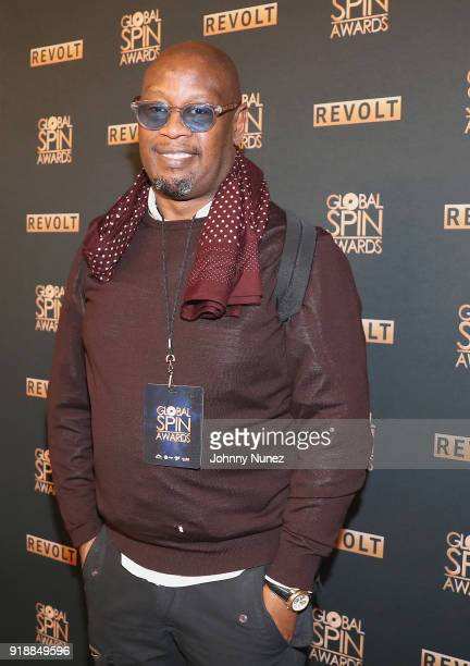 Andre Harrell attends the 2018 Global Spin Awards at The Novo by Microsoft on February 15 2018 in Los Angeles California