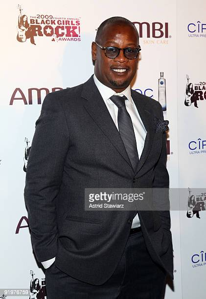 Andre Harrell attends The Fourth Annual Black Girls Rock at The New York Times Center on October 17 2009 in New York New York