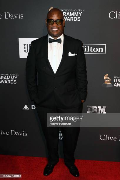 Andre Harrell attends the PreGRAMMY Gala and GRAMMY Salute to Industry Icons Honoring Clarence Avant at The Beverly Hilton Hotel on February 9 2019...
