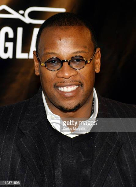 """Andre Harrell during Alicia Keys Presents """"The Pusher's Ball"""" to Benefit Keep a Child Alive - Arrivals at Angel Orensanz in New York City, New York,..."""