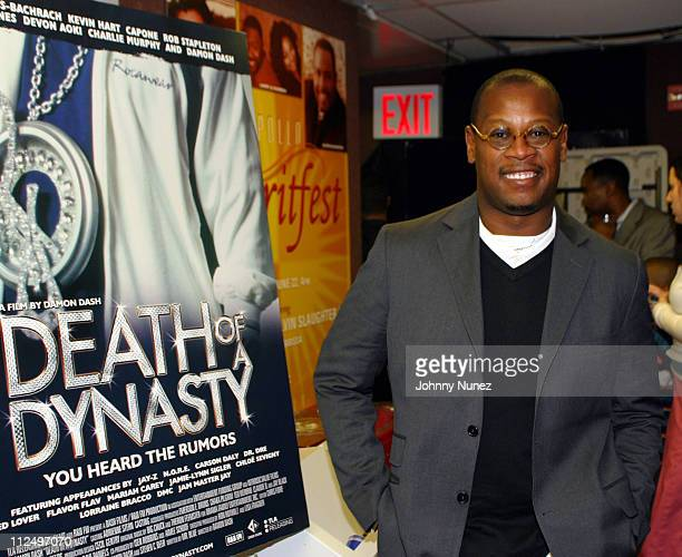 """Andre Harrell during """"Death of a Dynasty"""" New York City Premiere at Apollo Theater in New York City, New York, United States."""