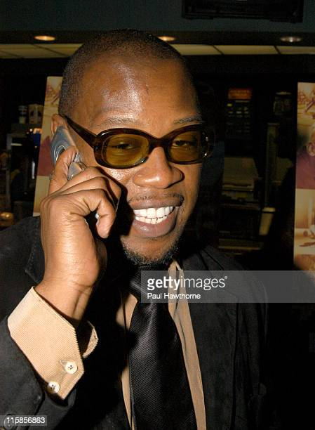 """Andre Harrell during """"Honey"""" - New York Premiere - Inside Arrivals at Chelsea West Theater in New York City, New York, United States."""