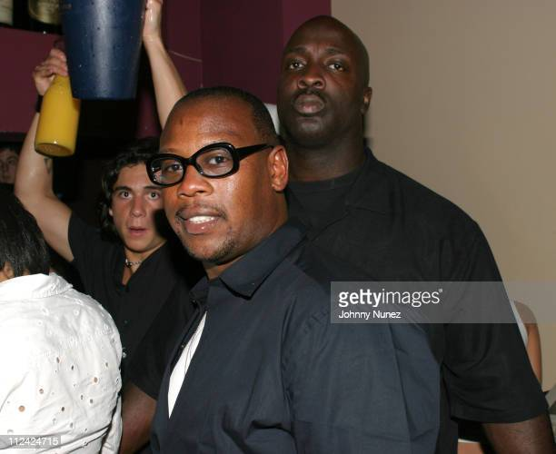 Andre Harrell during Jessica Rosenblum's Party at Dorsica at Dorscia in New York City New York United States