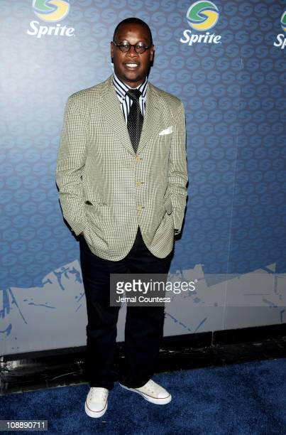 Andre Harrell during Sprite Street Couture Showcase - Arrivals and Afterparty at Guastavino's in New York City, New York, United States.