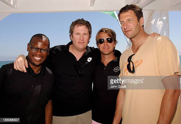 Andre Harrell Jordan Schur CoOwner of Lotto David Schulte CoOwner of Lotto and Jeff Kwatinetz owner of The Firm