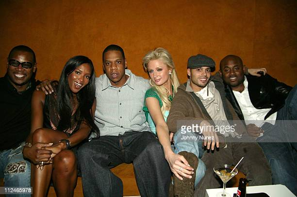 Andre Harrell Naomi Campbell JayZ Paris Hilton Richie Akiva and Steve Stout