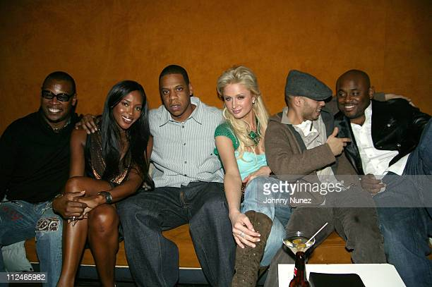 Andre Harrell, Naomi Campbell, Jay-Z, Paris Hilton, Richie Akiva and Steve Stout