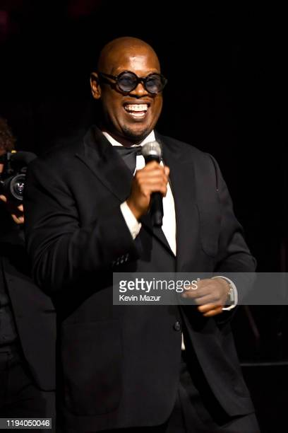 Andre Harrell speaks onstage during Sean Combs 50th Birthday Bash presented by Ciroc Vodka on December 14, 2019 in Los Angeles, California.