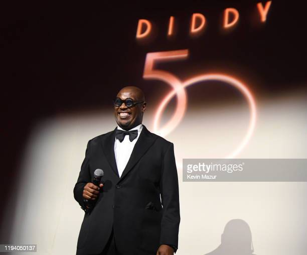 Andre Harrell speaks onstage during Sean Combs 50th Birthday Bash presented by Ciroc Vodka on December 14 2019 in Los Angeles California
