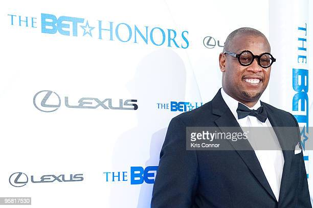 Andre Harrell walks the red carpet before the 2010 BET Honors at the Warner Theatre on January 16, 2010 in Washington, DC.