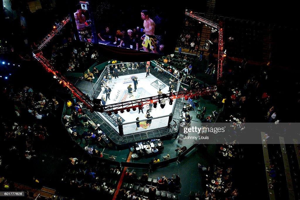 Titan FC 41 Mixed Martial Arts At Bank United Center : News Photo