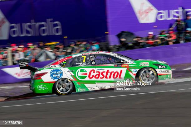 Andre Heimgartner / Aaren Russell in the Plus Fitness Racing Nissan Altima at the Supercheap Auto Bathurst 1000 V8 Supercar Race at Mount Panorama...