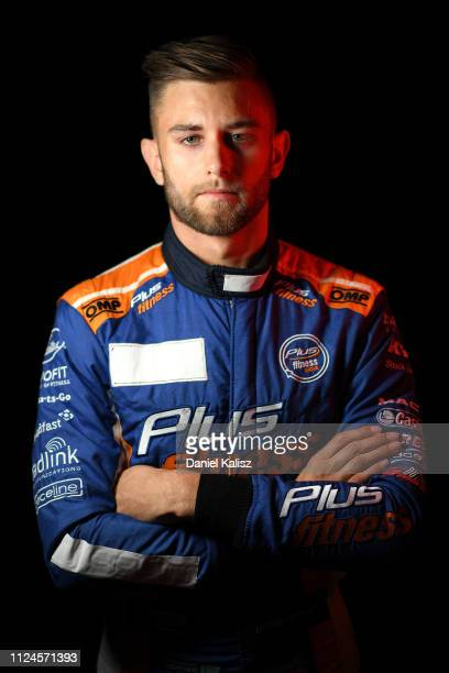 Andre Heimgartner driver of the Kelly racing Nissan Altima during the 2019 Supercars Media Day at on February 12 2019 in Melbourne Australia