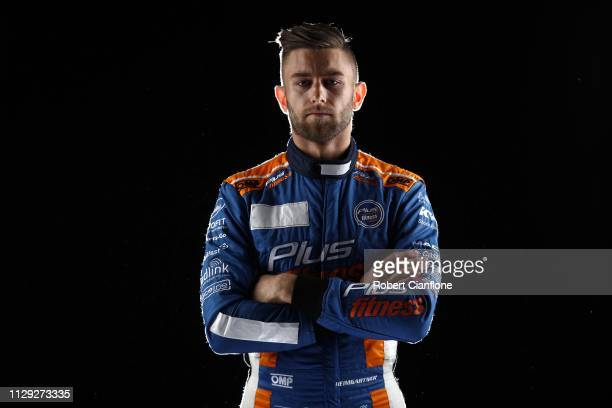 Andre Heimgartner driver of the Kelly Racing Nissan poses during the 2019 Supercars Media Day on February 13 2019 in Melbourne Australia