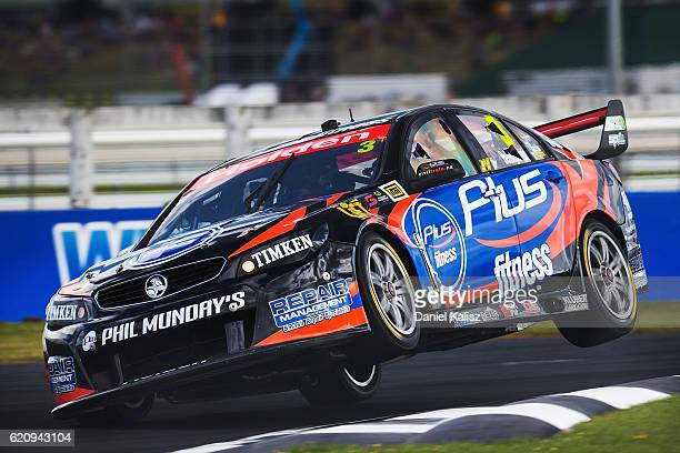 Andre Heimgartner drives the LD Motorsports Holden Commodore VF during practice for the Supercars Auckland International SuperSprint on November 4...