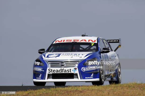 Andre Heimgartner drives the Nissan Motorsport Nissan Altima during the 2018 Supercars Testing Day at Sydney Motorsport Park on February 16 2018 in...