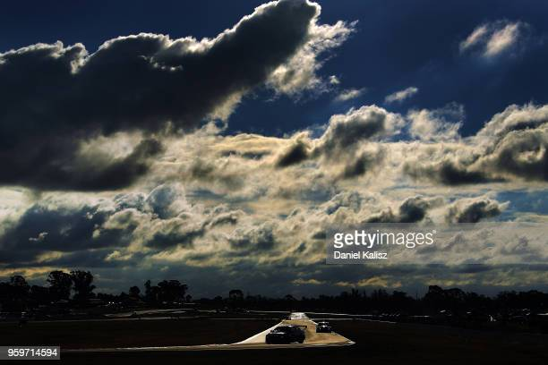 Andre Heimgartner drives the Nissan Motorsport Nissan Altima during practice for the Supercars Winton SuperSprint on May 18 2018 in Melbourne...