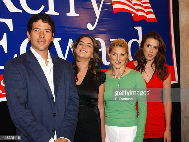 Andre Heinz son of Teresa Heinz Cate Edwards daughter of John Edwards and Vanessa and Alexandra Kerry daughters of Senator John Kerry