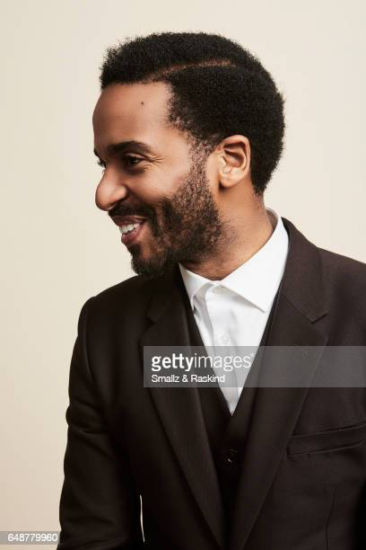 Andre Holland poses for portrait session at the 2017 Film Independent Spirit Awards on February 25 2017 in Santa Monica California