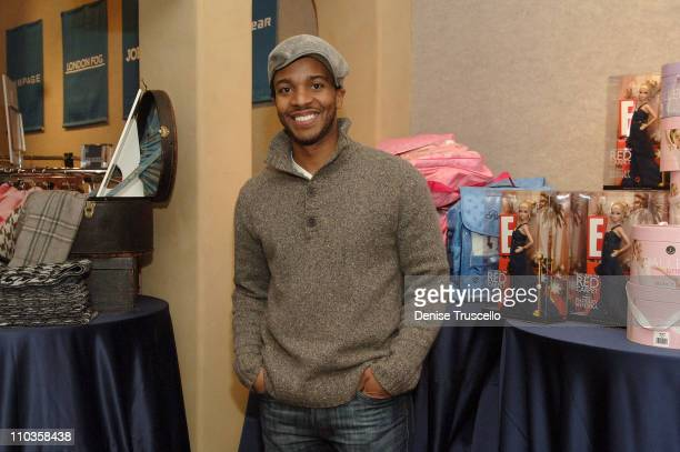 Andre Holland visits the Iconix Gifting for a Cause Suite produced by Backstage Creations on January 20 2008 in Park City Utah