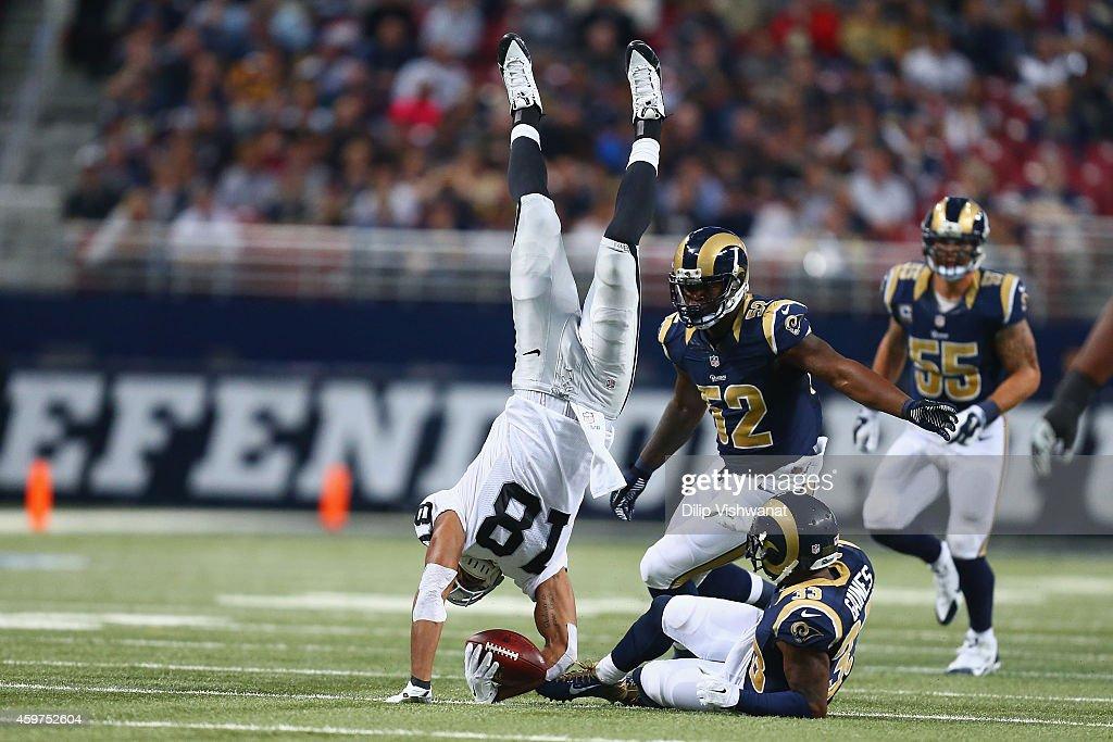 Oakland Raiders v St. Louis Rams : News Photo