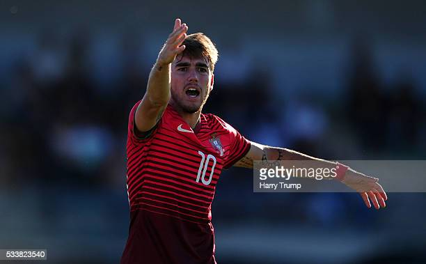 Andre Horta of Portugal during the Toulon Tournament match between Portugal and Guinea at Stade De Lattre on May 21 2016 in Aubagne France