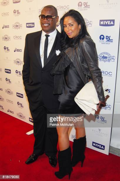 """Andre Hurrell attend Island Def Jam and House of Hype Celebrate Antonio """"LA"""" Reid's Annual Post Grammy Soiree at Wolfgang's Steakhouse on February 8..."""