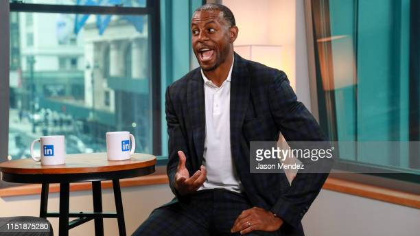 Andre Iguodala at LinkedIn on June 25 2019 in New York City