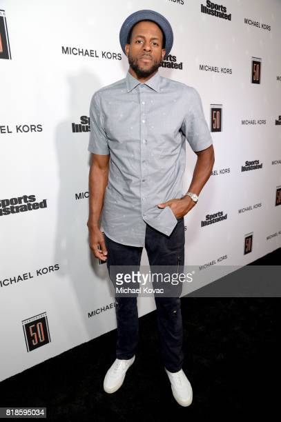 Andre Iguodala at Sports Illustrated 2017 Fashionable 50 Celebration at Avenue on July 18 2017 in Los Angeles California