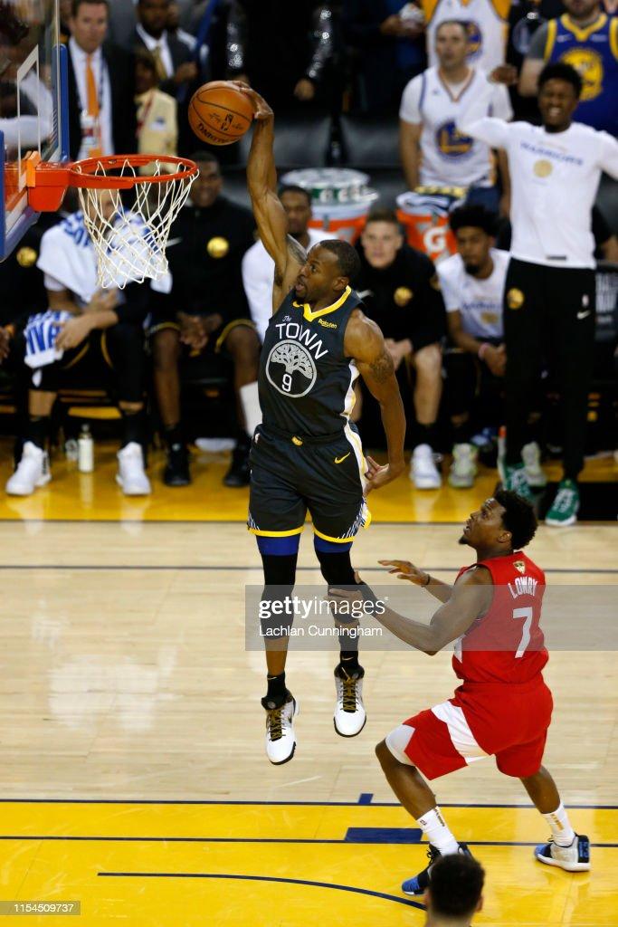2019 NBA Finals - Game Four : News Photo