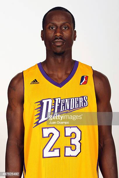 Andre Ingram of the Los Angeles DFenders poses for a photo during media day on November 10 2015 at Toyota Sports Center in El Segundo California NOTE...