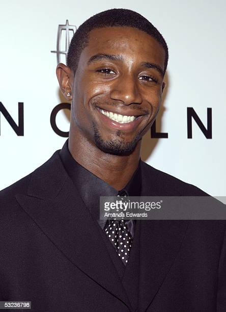 Andre Johnson arrives at the 20th Annual Midsummer Night's Magic Awards Dinner on July 13 2005 at the Century Plaza Hotel in Los Angeles California