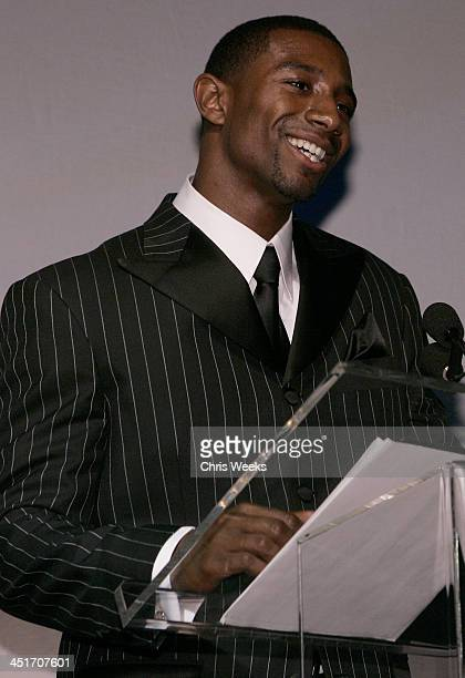 Andre Johnson during Magic Evolution An Evening Honoring Earvin Magic Johnson Inside at Beverly Hilton in Beverly Hills California United States