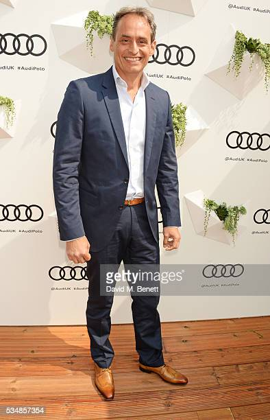 Andre Konsbruck Director of Audi UK attends day one of the Audi Polo Challenge at Coworth Park on May 28 2016 in London England