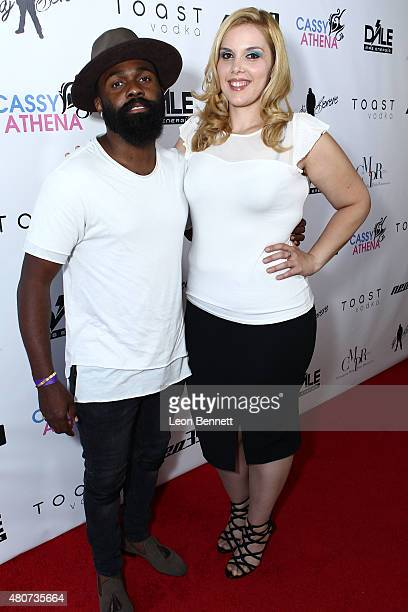 Andre LaDon and Cassy Athena attended NEO 39 Presents The Cassy Athena Collection PreESPYS Celebration at MR33B on July 14 2015 in Pasadena California