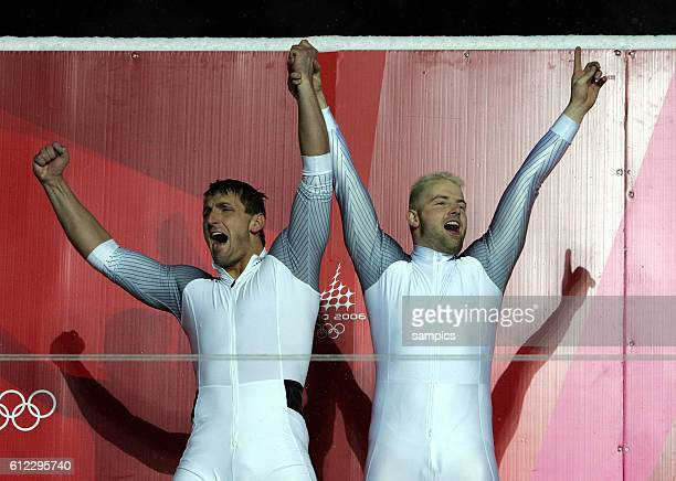Andre Lange and Kevin Kuske Bob GER 1 olympic winter games in torino 2006