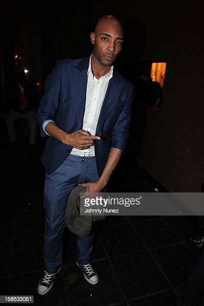 Andre Leon King attends Cans For Cocktails on December 17 2012 in New York City