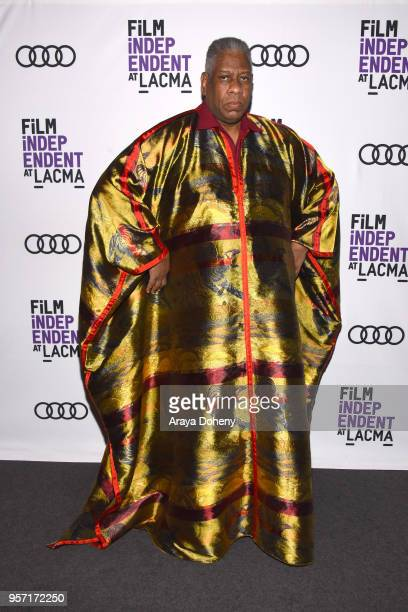 Andre Leon Talley attends Film Independent at LACMA hosts special screening of 'Gospel According To Andre' at Bing Theater At LACMA on May 10 2018 in...
