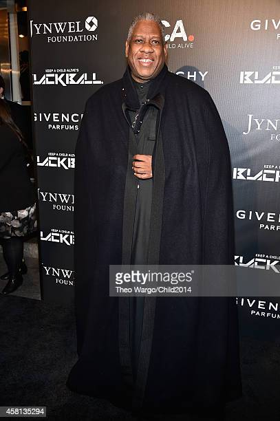 Andre Leon Talley attends the 9th annual Keep A Child Alive Black Ball at Hammerstein Ballroom on October 30 2014 in New York City