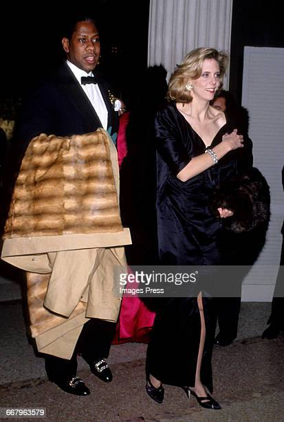 CIRCA 1989 Andre Leon Talley attends the Annual Costume Institute Exhibition Gala at the Metropolitan Museum of Art circa 1989 in New York City