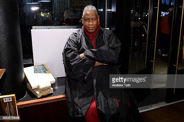 Andre Leon Talley attends the 'The House of Thurn Und Taxis' book launch at the Rizzoli Bookstore NYC on December 8 2015 in New York City