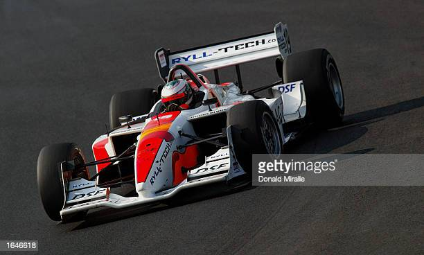 Andre Lotterer driving the Dale Coyne Racing Ford Lola during qualifying for the Gran Premio GiganteTelmex round 19 of the CART Fed Ex Championship...
