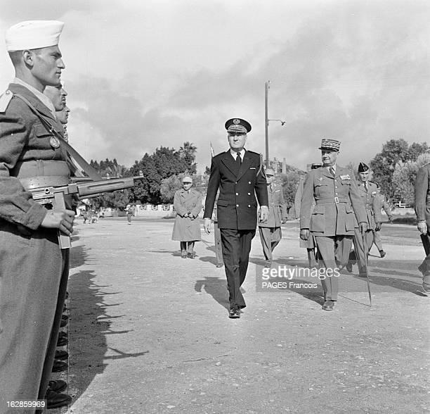 Andre Louis Dubois En decembre 1955 le haut fonctionnaire et préfet de Police de la seine Andre Louis DUBOIS en tournée au Maroc Résident général il...