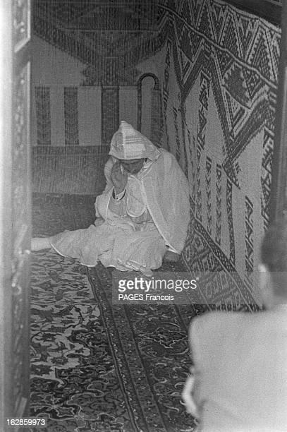 Andre Louis Dubois En decembre 1955 le haut fonctionnaire et préfet de Police de la seine André Louis DUBOIS en tournée au Maroc Résident gésident...