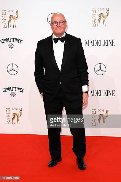 Andre Maeder arrives at the Bambi Awards 2016 at Stage Theater on November 17 2016 in Berlin Germany