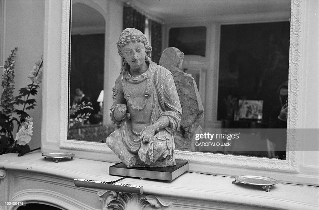 Andre malrauxs office in verrieres le buisson pictures getty images