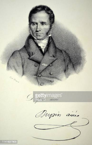 Andre Marie Jean Jacques Dupin known as Dupin the Elder French lawyer and politician AttorneyGeneral 18301852 and 18571865 Lithograph Paris c1840